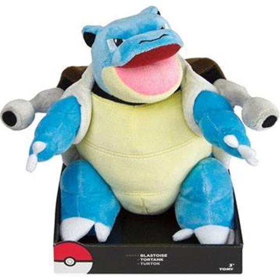 Pokémon Blastoise Plys Bamse