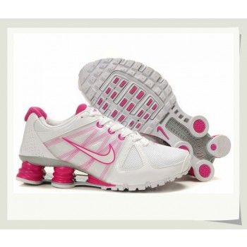 Nike Shox Turbo Women\u0027s White Pink For Sale