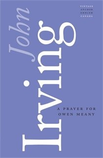 A Prayer For Owen Meany -- great periwinkle colour! Books are Beautiful series