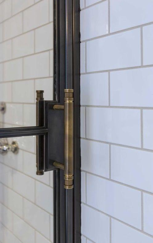 Best 25+ Shower door handles ideas on Pinterest | Bathroom ...