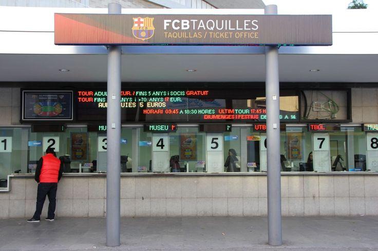 FC Barcelona Camp Nou Ticket Office