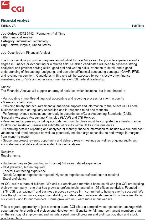 22 best Recruitment Ideas images on Pinterest Job search, Career - system analyst job descriptions