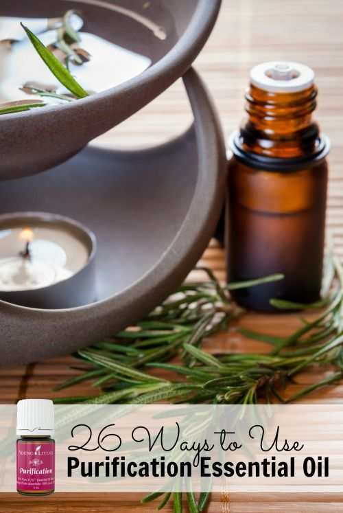Purification essential oil can do so much for your health and your home! Here…