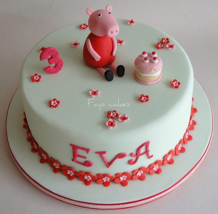 Peppa pig Cupcake ideas   Peppa pig cake