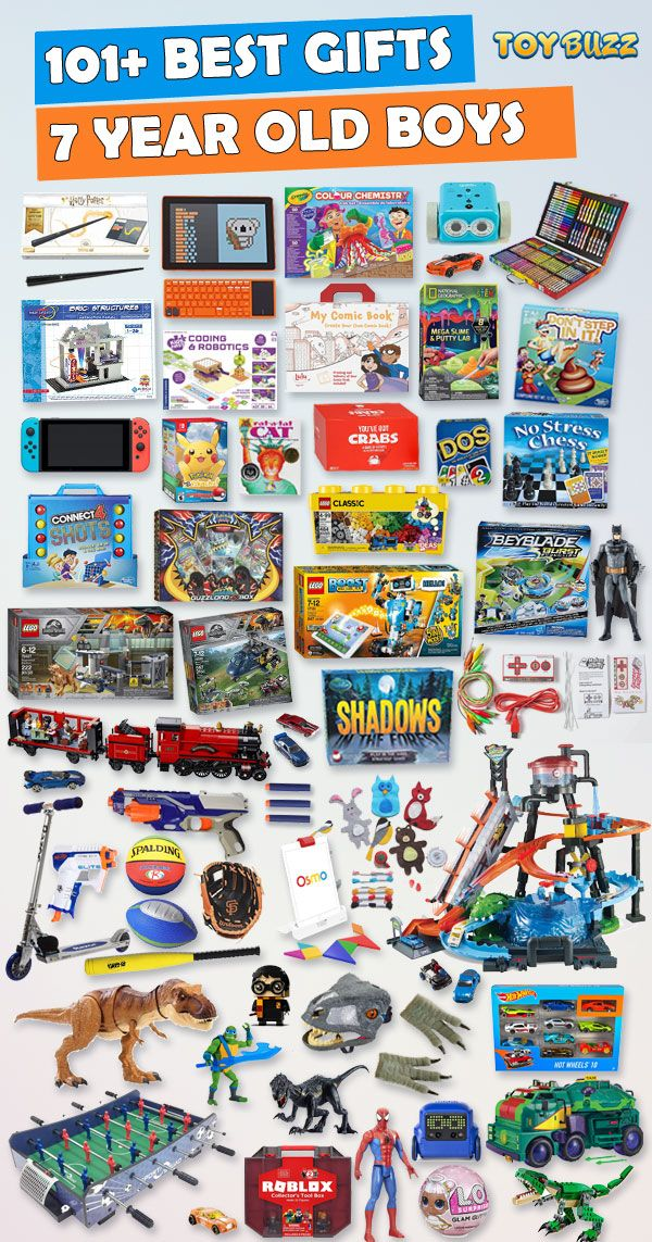 Best Toys For Christmas 2019.Gifts For 7 Year Old Boys 2019 List Of Best Toys Best