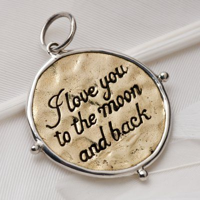 1000 > Moon and back charm
