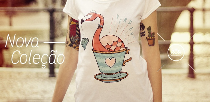 Cute Illustration Tees by Camila Rosa