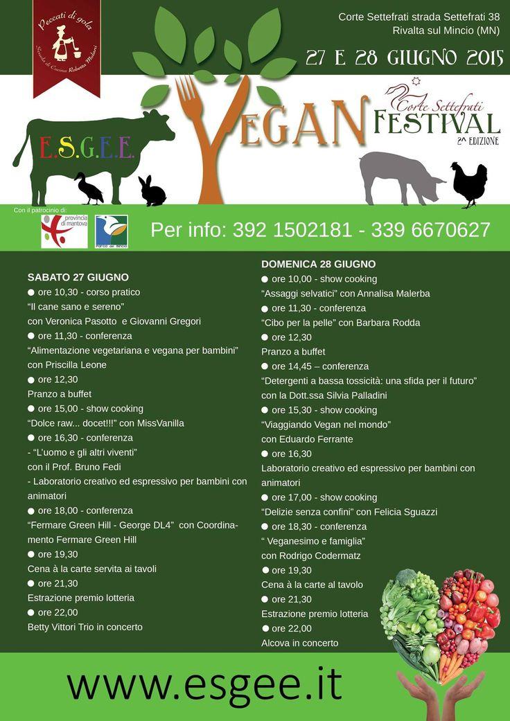 ESGEE Vegan Festival delle Emozioni 2015