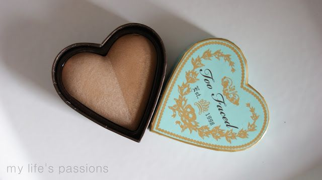 my life's passions: TOO FACED, Sweetheart Bronzer, Baked Luminous Glow...