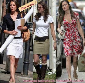 Tentando Fazer Moda: Estilo de Diva: Princesa Kate Middleton