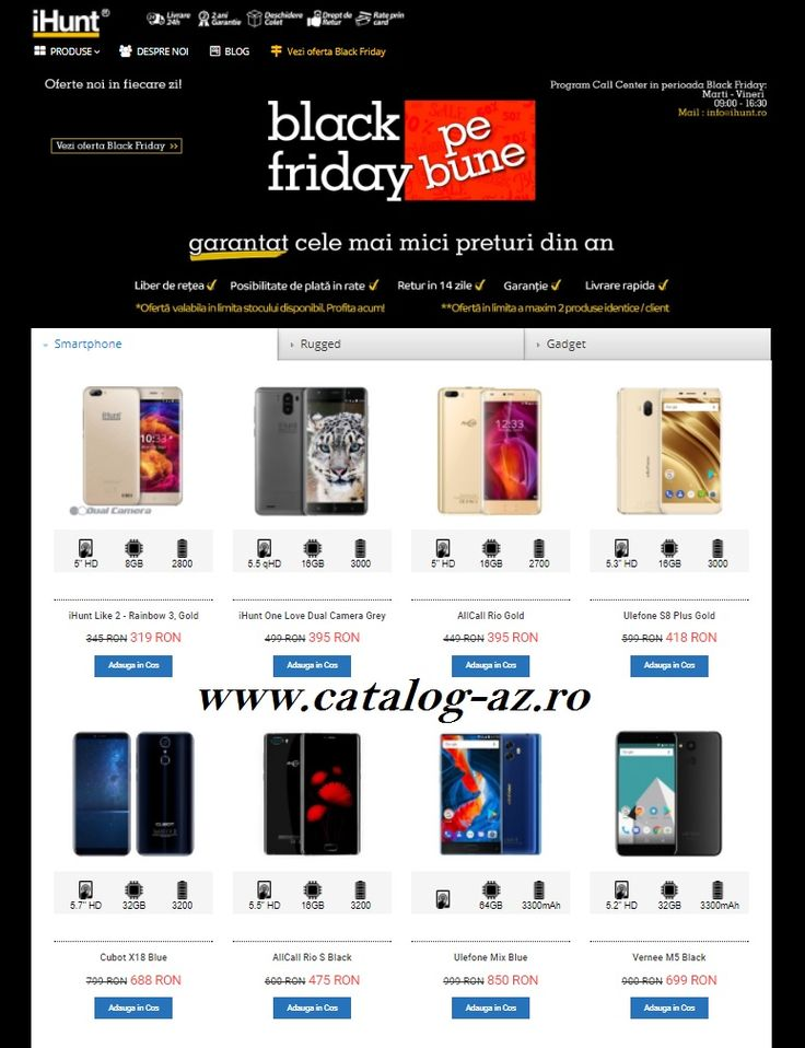 Catalog iHunt Black Friday Pe Bune Noiembrie 2017! Oferte si recomandari: Videoproiector Uhappy U20 - LCD 799 lei; Camera Video Auto Xiaomi DVR 325 lei