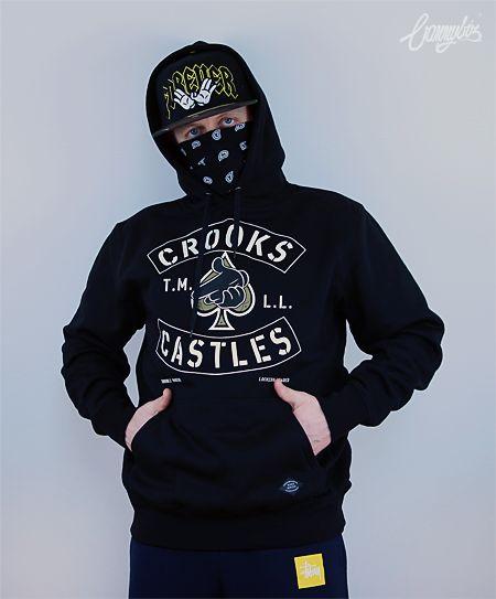 Bluza Crooks & Castles Airgun Spades Hoody