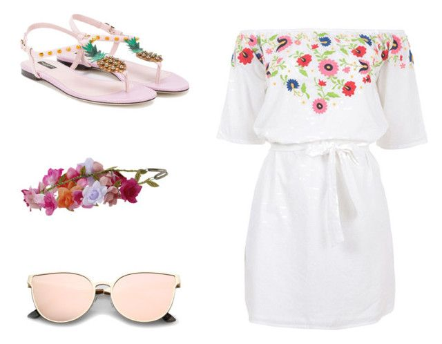 Spring Lookbook 1 by unicornlover1075 on Polyvore featuring polyvore, fashion, style, Pampelone, Dolce&Gabbana, Accessorize and clothing