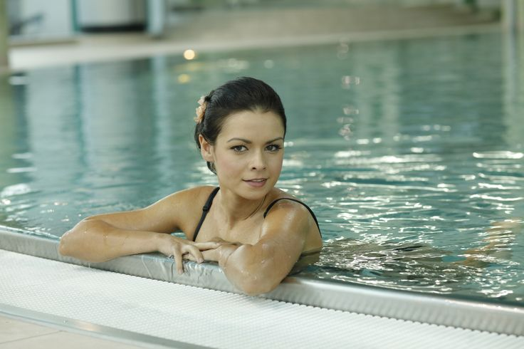 """Basen w Klinice Uzdrowiskowej """"Pod Tężniami"""".  #swimming, #pool, #water, #basen, #fitness #klinika #Ciechocinek #sanatory #health"""