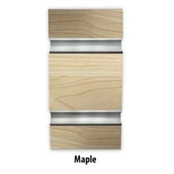 "6"" O.C. Maple MDF Slatwall - 18mm : [Maple - With Inserts]  ACMEDISPLAY.COM…"