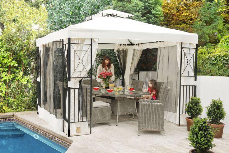 Si deseas estar pérgola en tu patio, haz clic aquí http://ow.ly/pvVI5