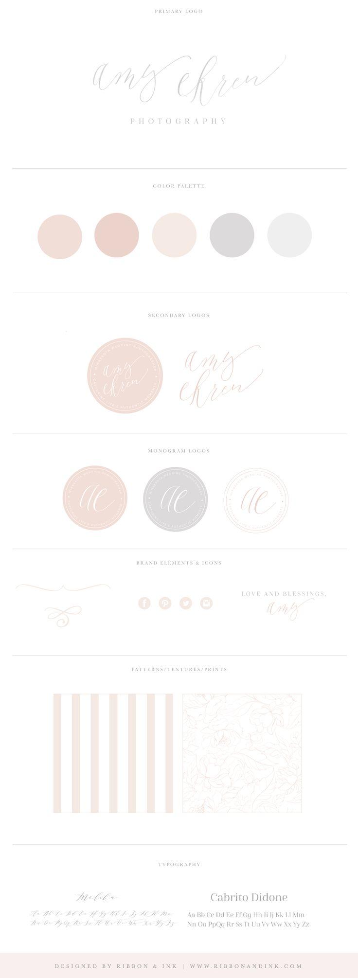 Branding / Web design / website / photographer website / custom website / website ideas/ website inspiration / Brand board / brand design / custom logo / photographer brand / photographer logo / color palette / logo design