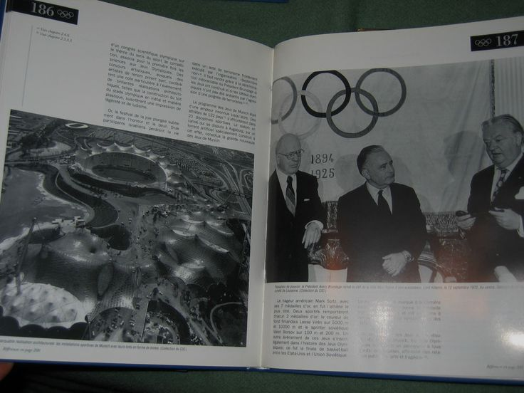Un siècle du comité international olympique 4vol Exlibris daniel deschatres 1994