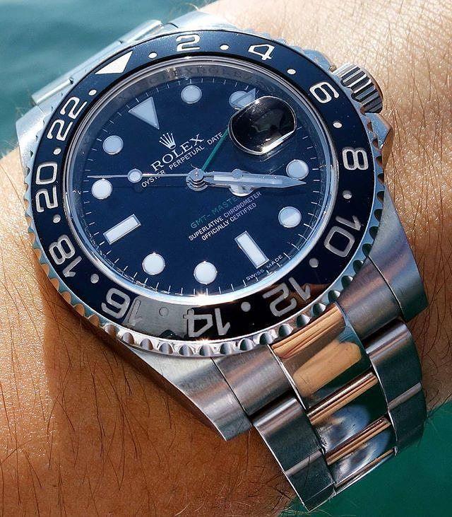 Rolex GMT-Master II | @gmtfanatic #TEAMWRISTPORN | www.wristporn.com