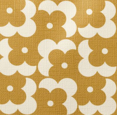 gallery of orla kiely floral pattern via print u pattern with orla kiely papier peint. Black Bedroom Furniture Sets. Home Design Ideas