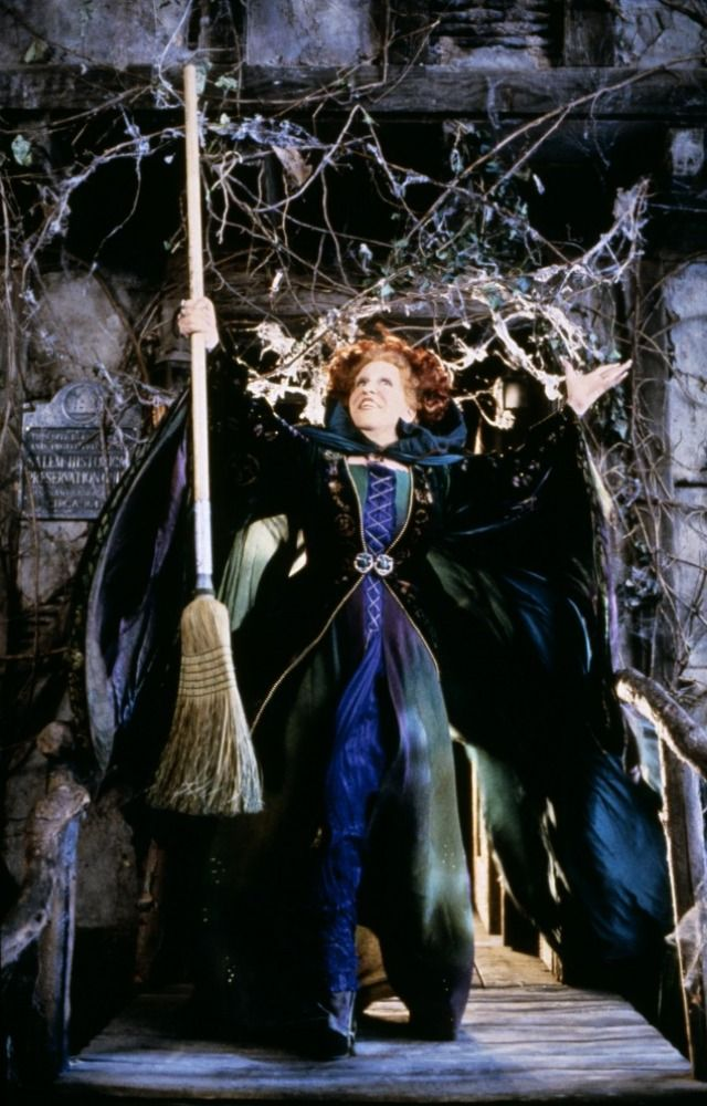 Bette Midler as Winifred Sanderson in Hocus Pocus