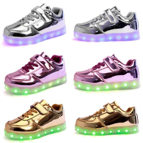 LED Light up Luminous Sneakers by booegies9