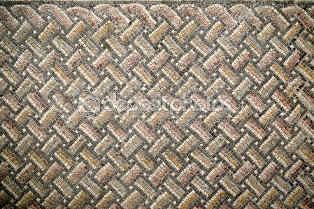 Downloaden - Achtergrond, mozaïek, textuur, patroon, Romeinse, Romeinse mozaïek, gekleurde, kleine stenen, smalt, tekenen, geometrisch ontwerp, wit, grijs, pleinen, segmenten, kleine blokjes, kunsten en ambachten, kleine formulieren, elegantie, mozaïek techniek, modules, driehoeken strip — Stockbeeld #49257807