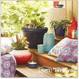 Enter for a chance to win $25 daily through Lowe's Outdoor Oasis Sweepstakes. Enter now!