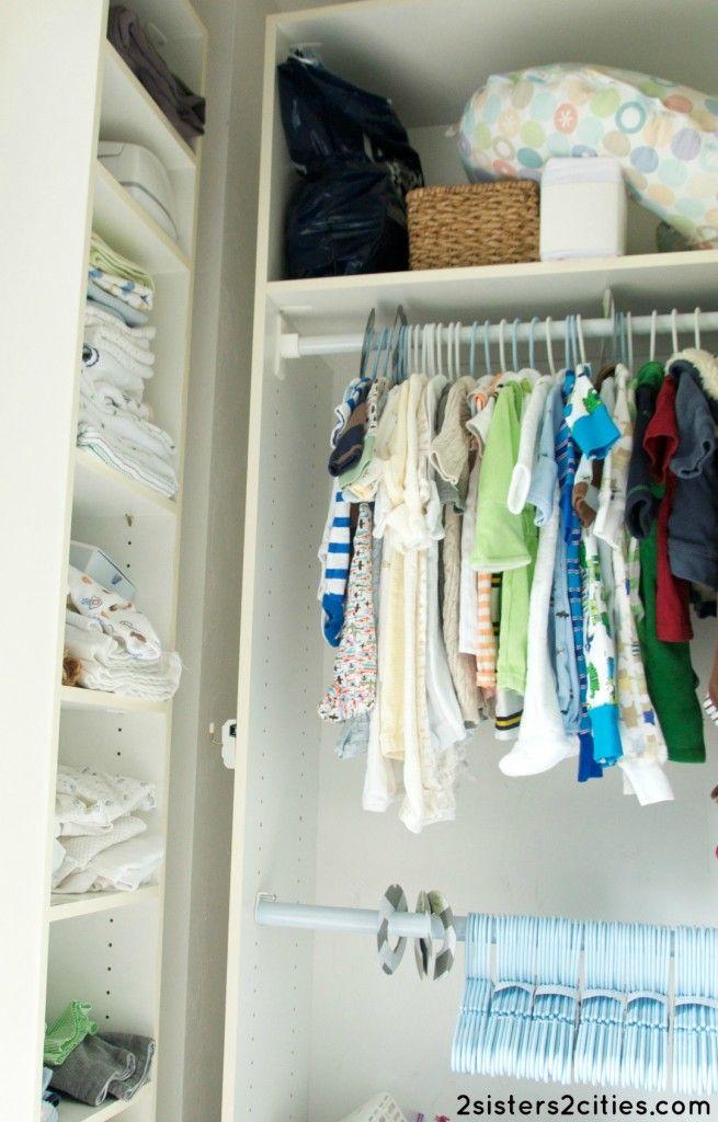 Baby Nursery Closet
