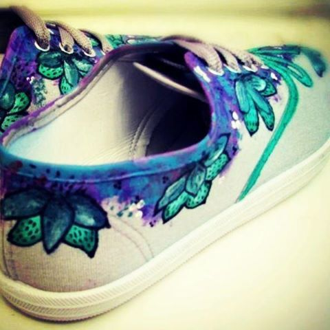 #sharpie #sharpieshoes  pintar mis zapatillas  diyshoes #painted shoes