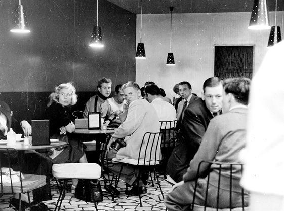 Legend Cafe Melbourne 1956