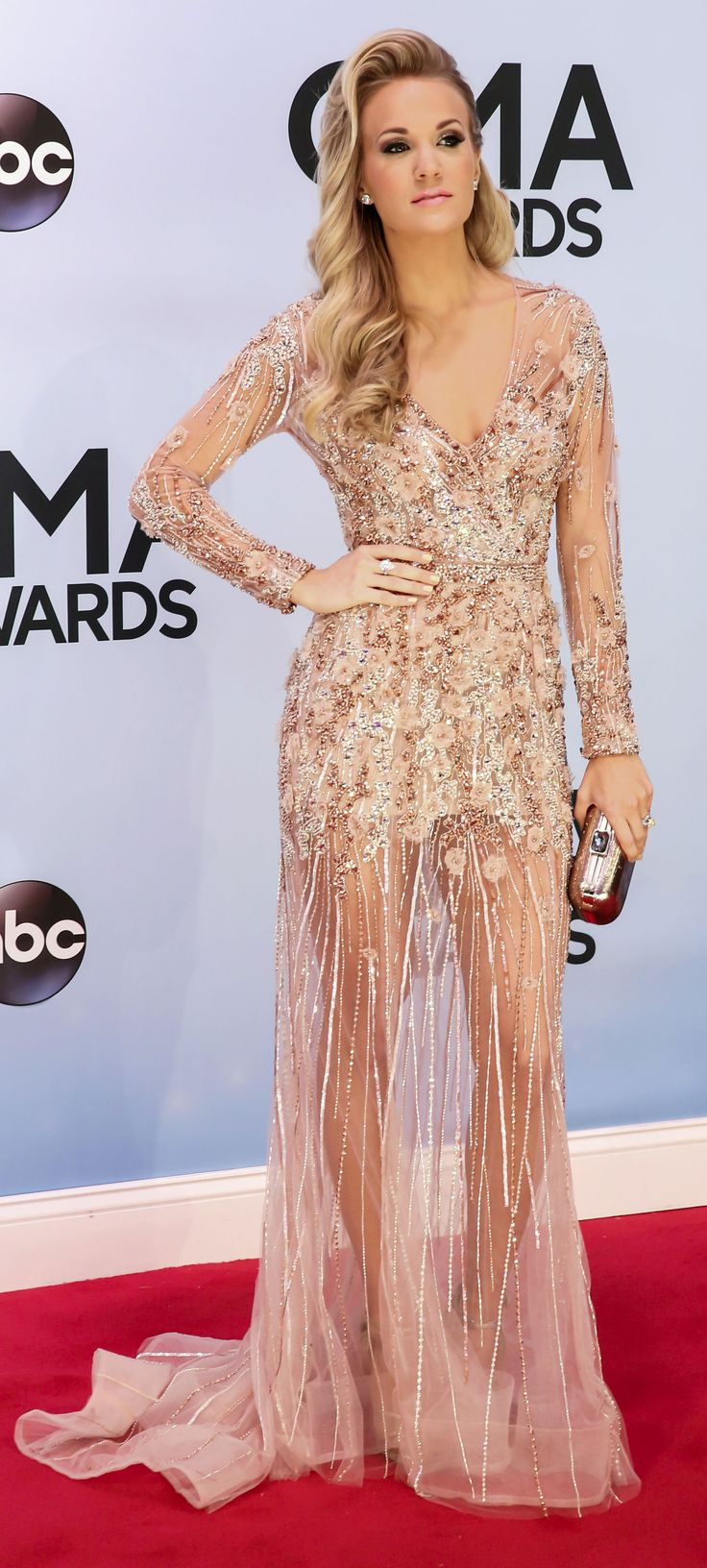 Carrie Underwood at the CMA Awards