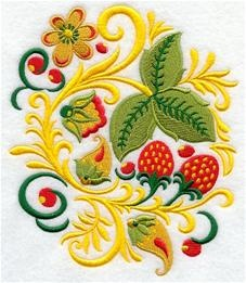 Machine Embroidery Designs at Embroidery Library! - Russian Folk Art