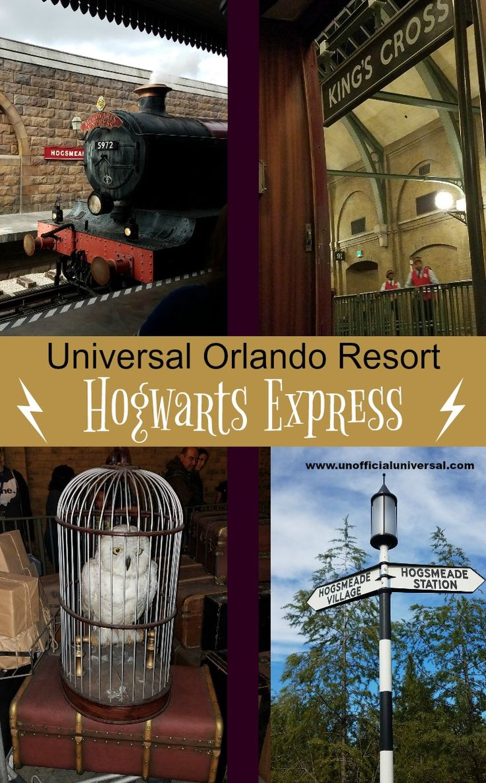 Harry Potter - Hogwarts Express - Hogsmeade - King's Cross - Diagon Alley - Universal Studios - Unofficialuniversal.com