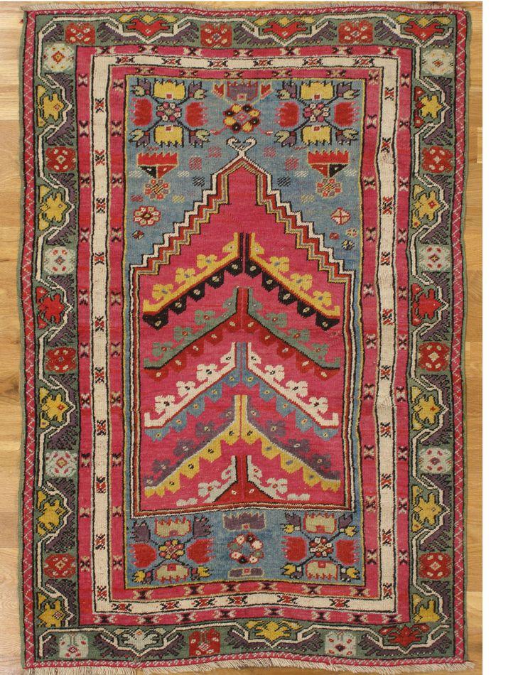 Kirsehir Prayer Rug X 104 Cm Central Anatolia Circa Of The