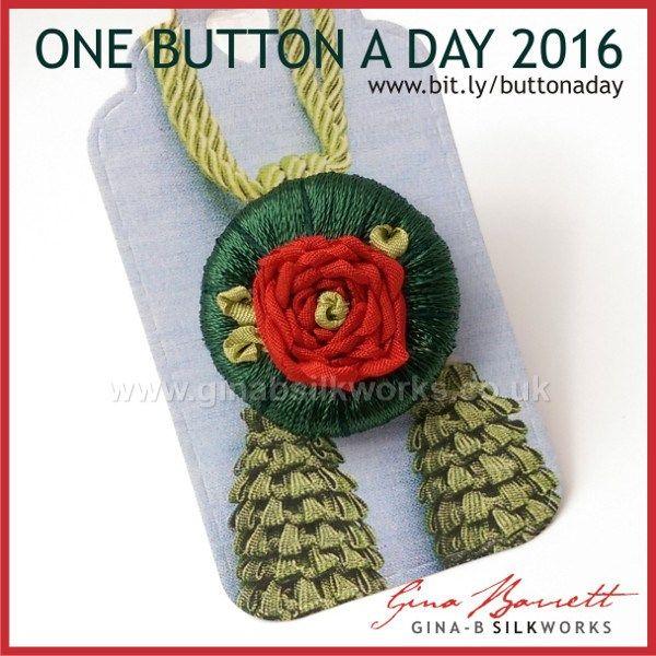 Day 147: Rose #onebuttonaday by Gina Barrett