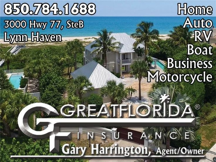 For the best insurance rates in town, call Great Florida Insurance Panama City  for auto, home, fleet, motorcycle, RV, campers & more. Mention ad #ChapmanMedia #Insurance