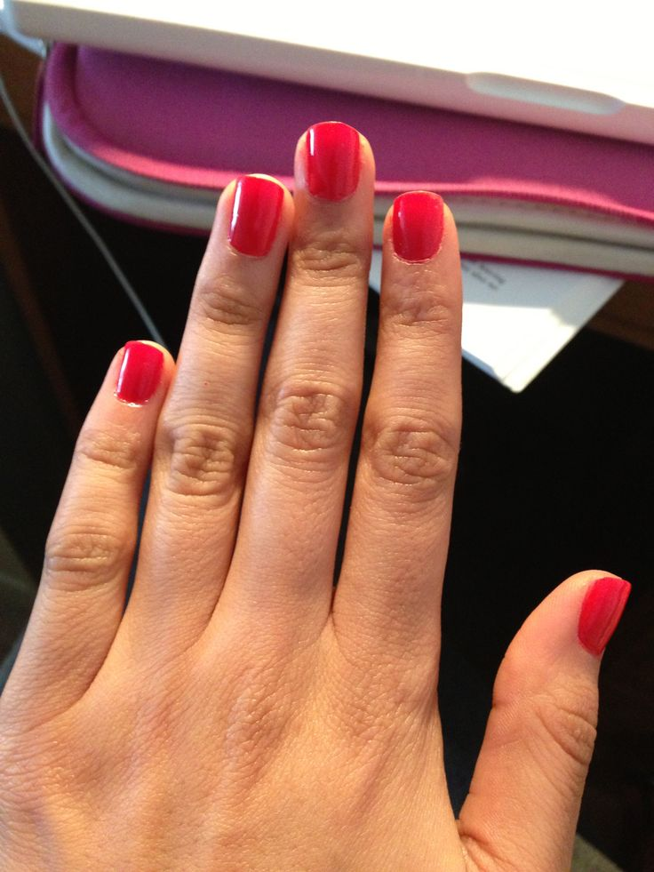 Classic Nails: 12 Best Long Red Classic Nails Images On Pinterest