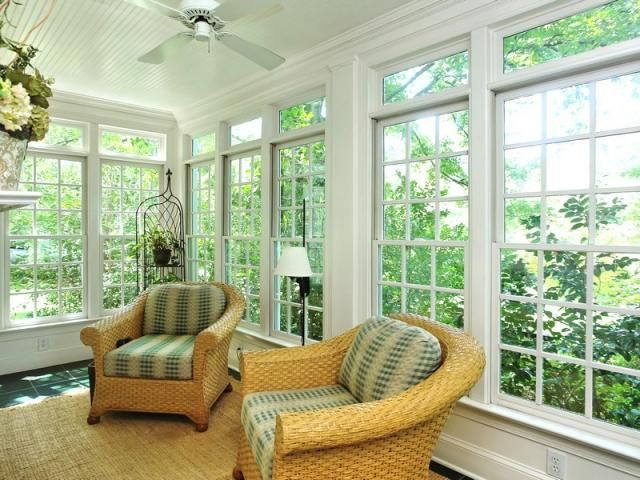 195 best porches patios and sunrooms images on pinterest for Sunroom windows ideas