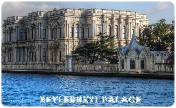 Beylerbeyi Palace - Istanbul - Turkey. Former summer residence for the Ottoman sultans.