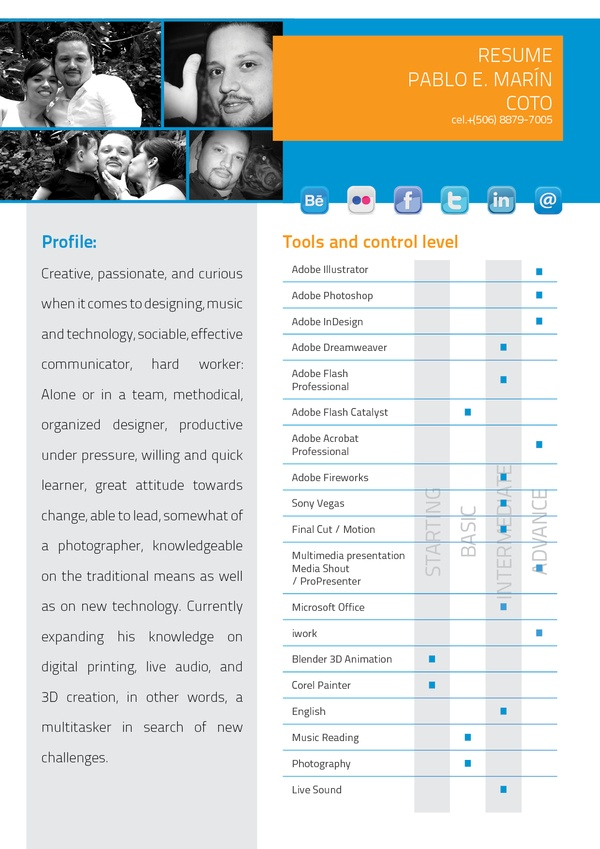 22 best Social Media Resume 1 images on Pinterest Social media - other words for resume