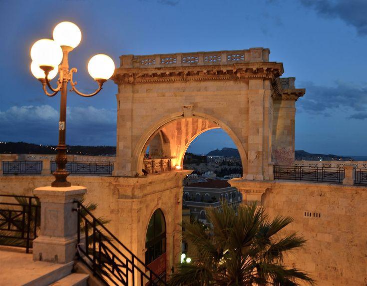 Il bastione di Saint Remy a Cagliari | Cagliari ...