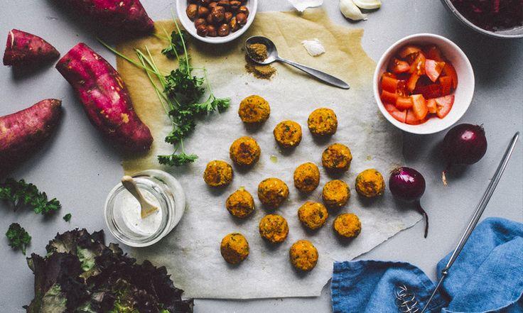sweet potato falafel (Belen)