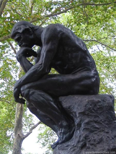 The Thinker, Rodin Museum, Philadelphia, PA