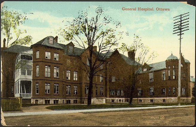 https://flic.kr/p/iuxqui | General Hospital Ottawa 1910