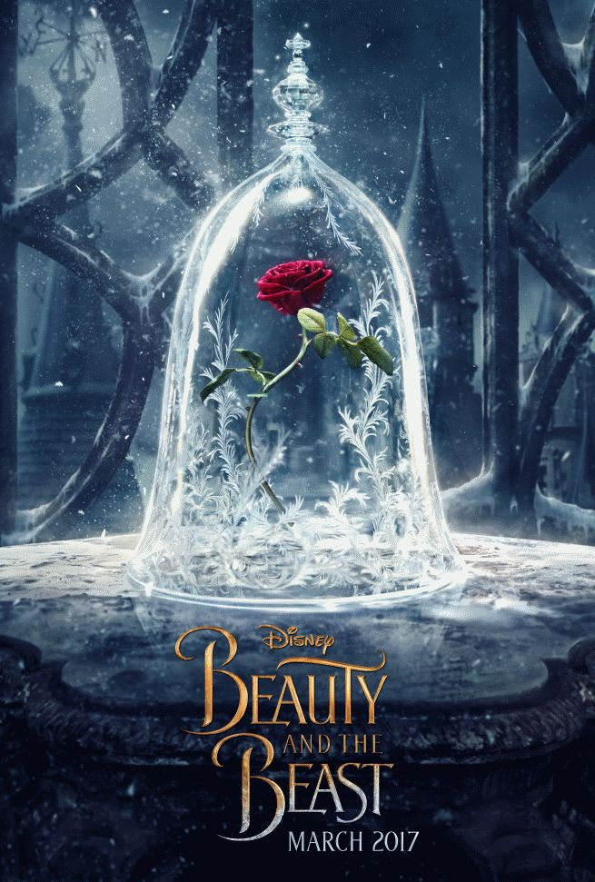 beauty and the beast poster | Walt Disney Pictures has released a new teaser poster for the upcoming ...