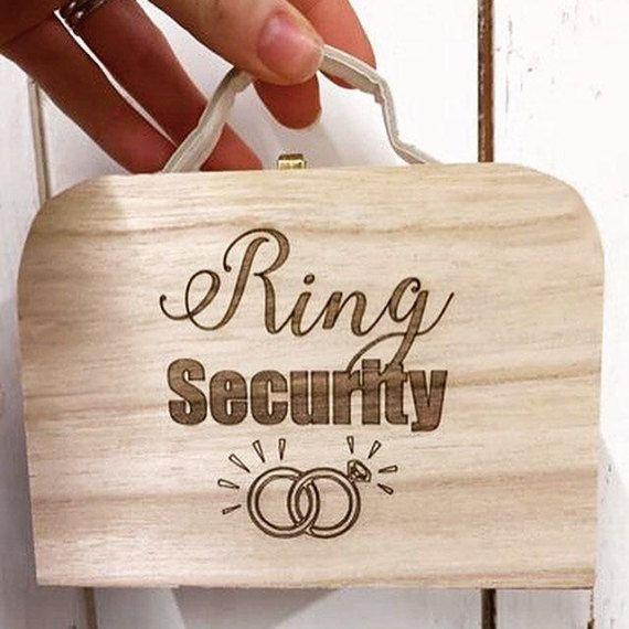Personalizado de seguridad anillo, caja del anillo personalizado, caja del anillo portador, portador del anillo maleta, maleta mini anillo, caja del anillo