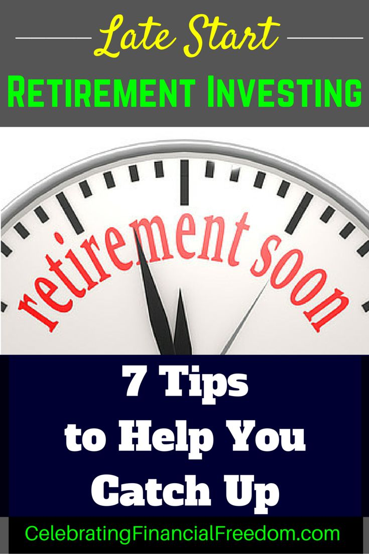 Getting a late start investing for retirement?  You're not alone!  Click the pic to find out the 7 things you can do right now to start catching up.  #Investing #money #retirement #finance  Photo Credit: David Hilowitz via Compfight cc  http://www.cfinancialfreedom.com/late-start-retirement-investing-tips-catch/