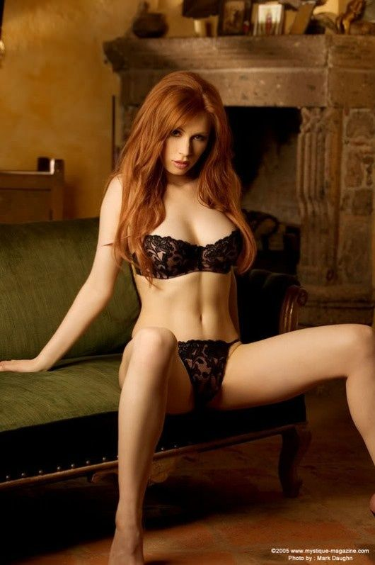 Fiery redhead marie mccray rubs big dick 420 6