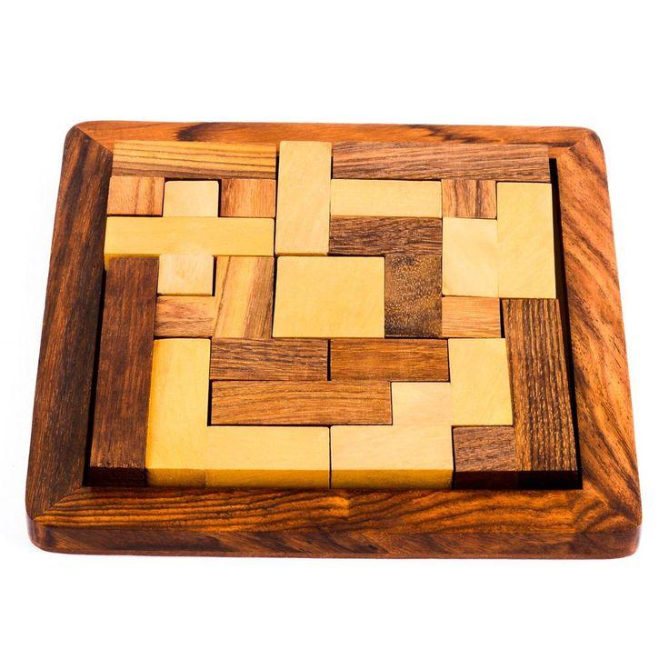 Wooden Tangram Puzzle